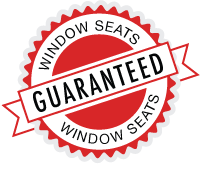 Window seats Guaranteed